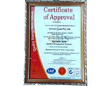 QMS Certificate of Approval